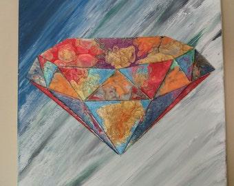 Molten Diamond