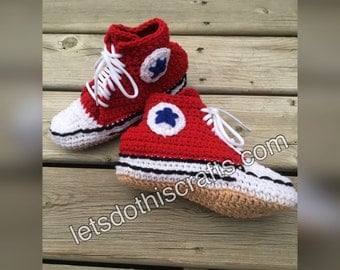 Converse-Style Slippers