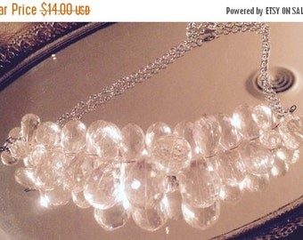 On Sale Vintage Lucite Necklace
