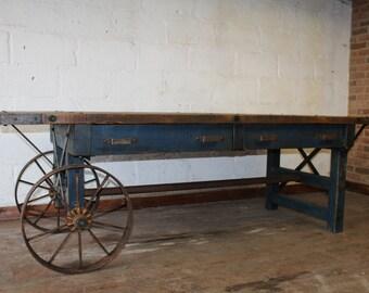 Industrial Farmhouse Table