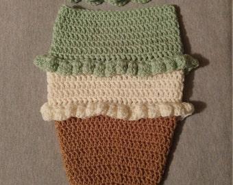 Ice Cream Cone Infant cocoon