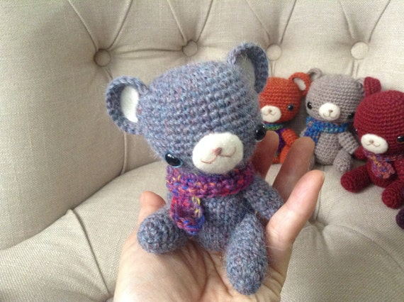 Amigurumi Baby Shower Bears : 2.Knitted teddy bears Crochet bear cuddly toys Amigurumi