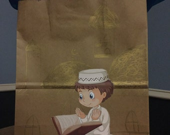 Eid/Ramadan gift bag- boy reading