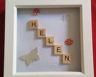 Scrabble word gift