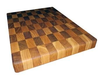 End cutting board (oak & ash)
