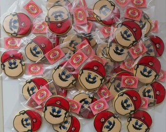 Super Mario Decorated cookies Dozen