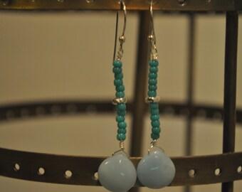 Sea Blue Drops