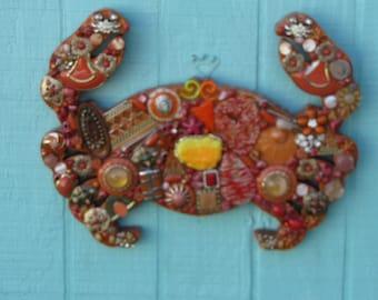 Orange Crab (Small)