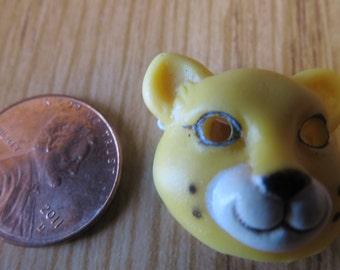Leopard  Dollhouse Miniature  Halloween mask