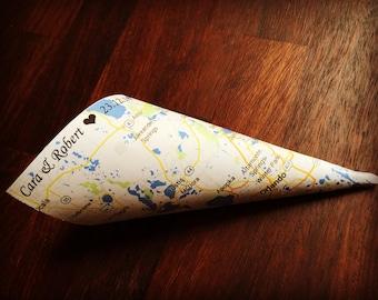 Personalised Confetti Cones x 25