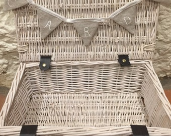 Large Wedding Card Hamper with Miniature Bunting