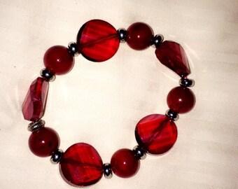 Rich Red Bracelet