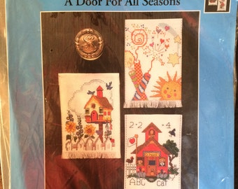 A Door For All Seasons counted cross stitch kit