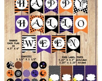 SALE!!! Halloween Party Package; Happy Halloween Party package