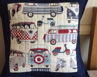 VW Camper van and scooter cushion cover