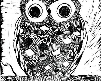 The Owl Digital Download