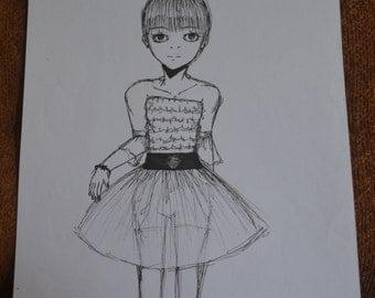 Tutu  (15 year old artist)