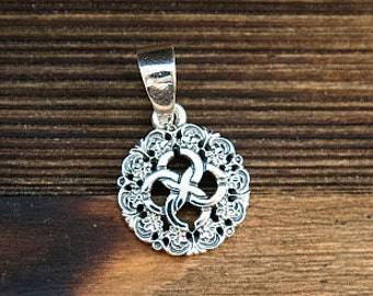 Svadebnik Pendant, Ancient slavic amulet, Pagan talisman