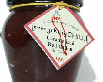 Caramelised Red Onion Chutney with Chilli