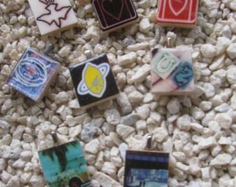 U2 Scrabble Tile Charms