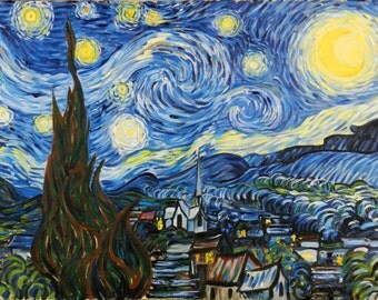 Van Gogh's Starry Night Reproduction by Lee Fratto