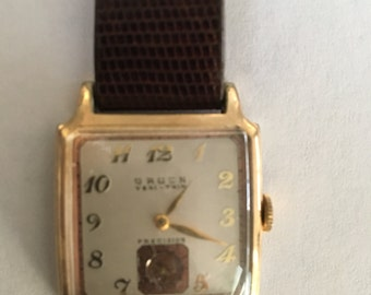 Vintage 1940 Gruen Veri-Thin Precision Watch