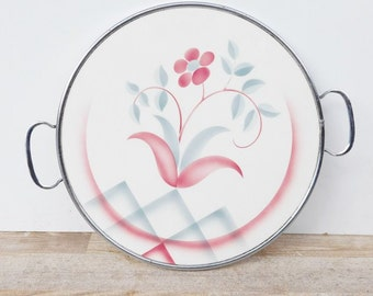 Cake plate Art Deco spray decor