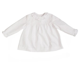 White Museta Long Sleeve Shirt