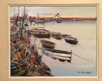 Christophe Charpides Original Oil Painting
