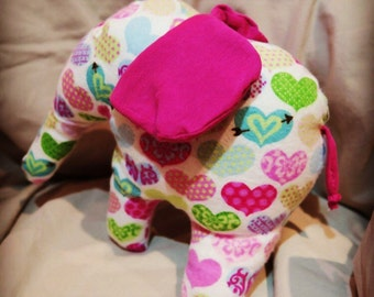 Stuffed animal Ellie the Elephant personalised upon request!