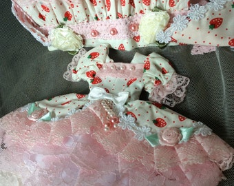 New Blythe strawberry dress usd34.99