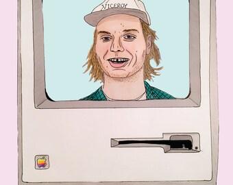 MAC DeMarco 11X17 print