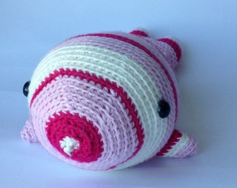 Crocheted animal Sander Whale
