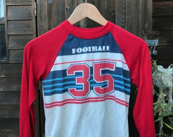 Vintage Football T shirt