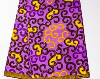 Authentic Ankara (African Wax) Fabric 003