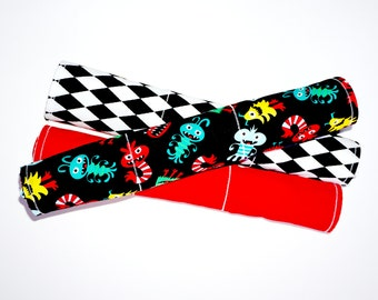 Little Monsters Burp Cloths | Set of 3 | Free Shipping