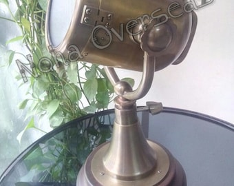 Welsh Table Lamp/ Vintage Table Lamp/ Nautical Table Lamp/ Table Lamp