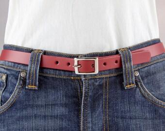 "3/4"" Belt Red"