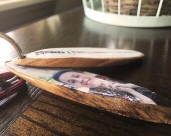 Wood Photo Keychain | Customize