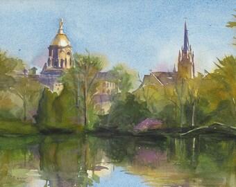 Notre Dame - Giclée Reproduction