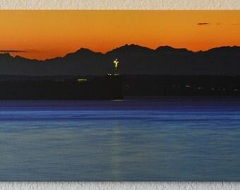 Sound Ship - 36x12 Canvas
