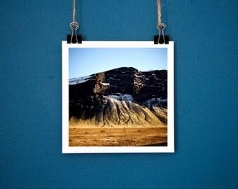 Landscape Photography Lómagnúpur Iceland Mountain Print