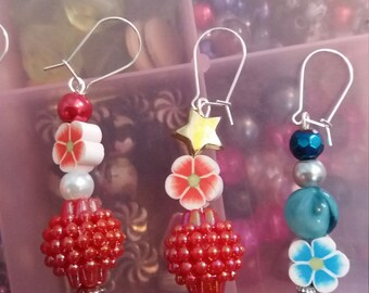 beaded phone charms