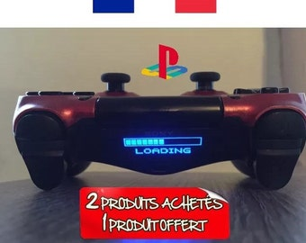 Stickers loading light bar ps4 controller controller