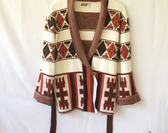 Oversized vintage cardigan / sweater