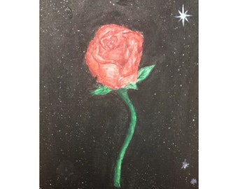 Rose in the Vast of Space