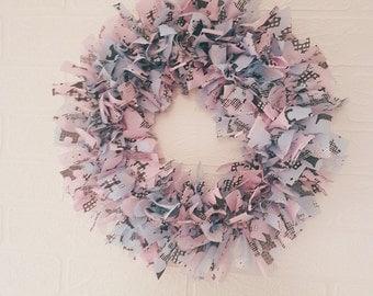Scottydog rag wreath