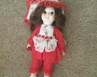 Strawberry by Toye Spence Porcelain Dolls