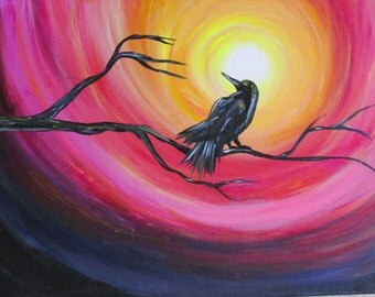 Raven Painting!
