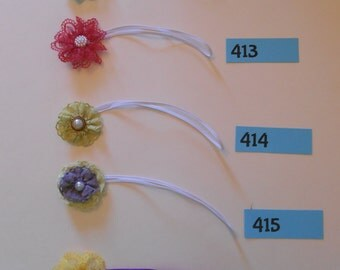 Small Flower Headbands